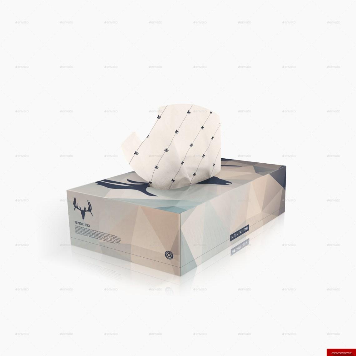 Download 2x Tissue Box Mock-up by mesmeriseme_pro | GraphicRiver