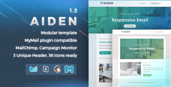 Aiden Responsive Email Template