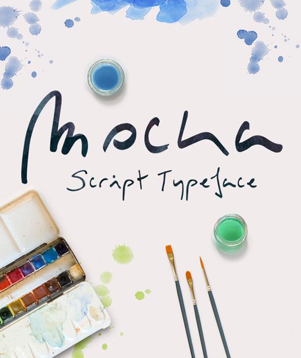 Free Font Mocka Typeface Download