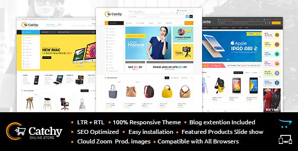Catchy - Multipurpose OpenCart 3 & 2 Theme - X Theme