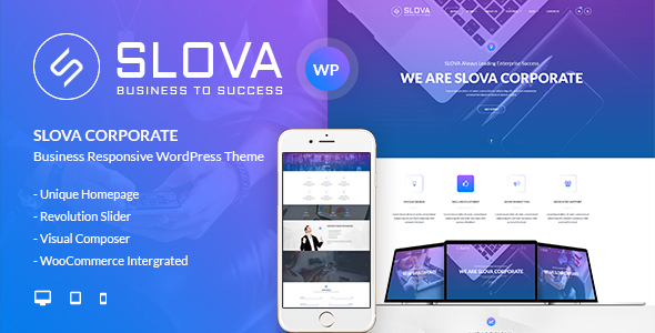 Slova - Business Responsive WordPress Theme