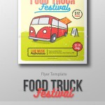 Food Truck Festival Flyer Template By Me55enjah Graphicriver