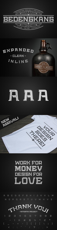 Free Font Bedengkang Typeface Download