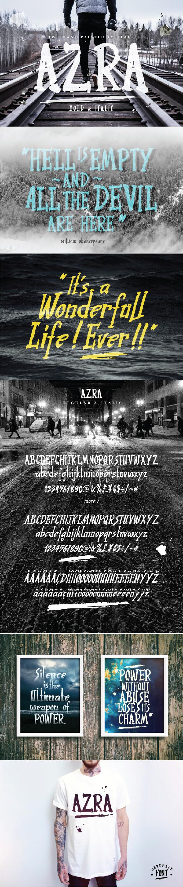 Free Font Azra Download