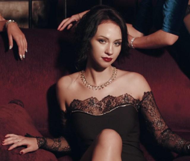 Sexy Girls In The Nightclub Stock Footage