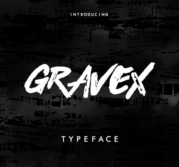Free Font GRAVEX Download