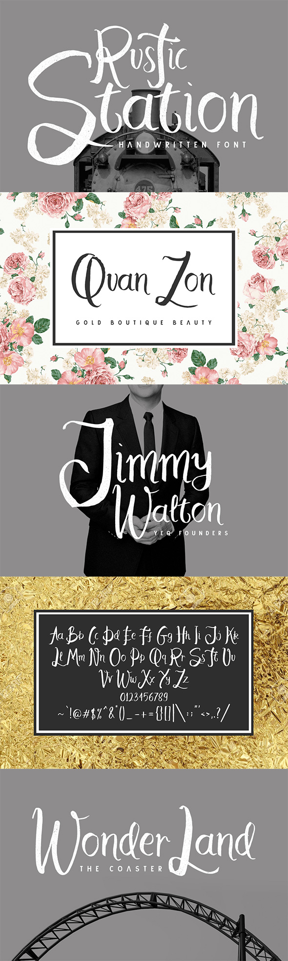 Free Font Rustic Station Typeface Download
