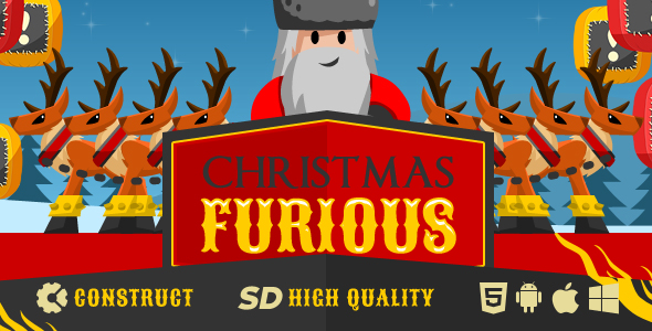 Game Christmas Furious by keiow   CodeCanyon Game Christmas Furious   CodeCanyon Item for Sale