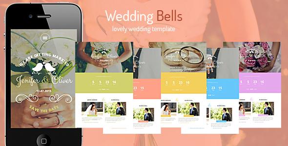 Wedding Bells - Responsive Wedding Template