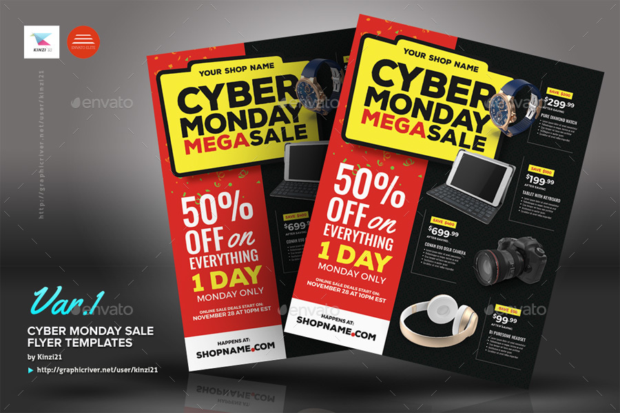 Cyber Monday Sale Flyer Templates by kinzi21   GraphicRiver     screenshots 02 graphic river cyber monday sale flyer templates kinzi21 jpg