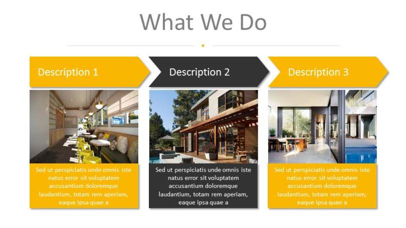 Architecture and Interior Design PowerPoint Presentation Template by     Architecture and Interior Design PowerPoint Presentation Template