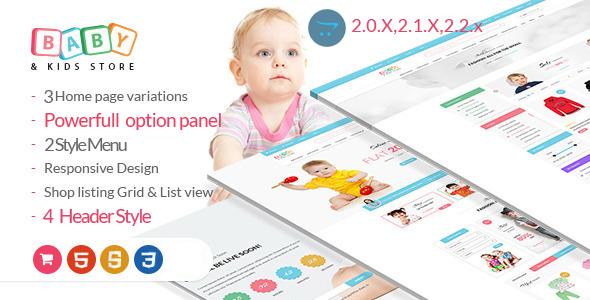 BabyStore -Responsive Opencart Theme