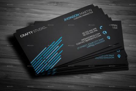 Personal Black Business Card by mr remon   GraphicRiver Personal Black Business Card   Business Cards Print Templates      Preview  Image Set 1 jpg