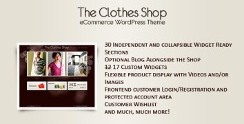 The Clothes Shop -WordPress eCommerce - ThemeForest Item for Sale