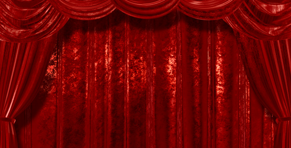 Velvet Red Curtains Open By AS100 VideoHive