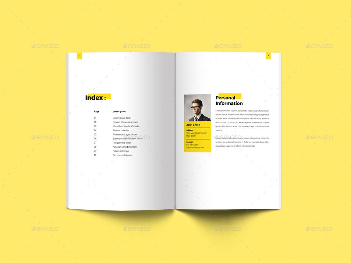 Minimal Interior Amp Architecture Portfolio By Guuver GraphicRiver