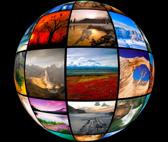 3d Spherical Image Gallery 01 Png