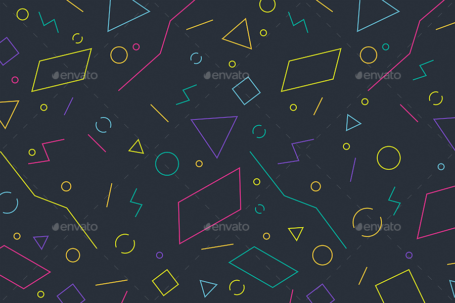 Abstract Linear Geometric Shapes Backgrounds by themefire   GraphicRiver 01 jpg