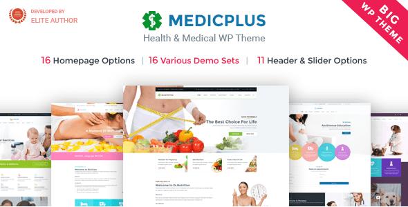Medical & Health WordPress Theme   Medical & Health WP Medic Plus (Medical, Health, Clinic, Doctor)