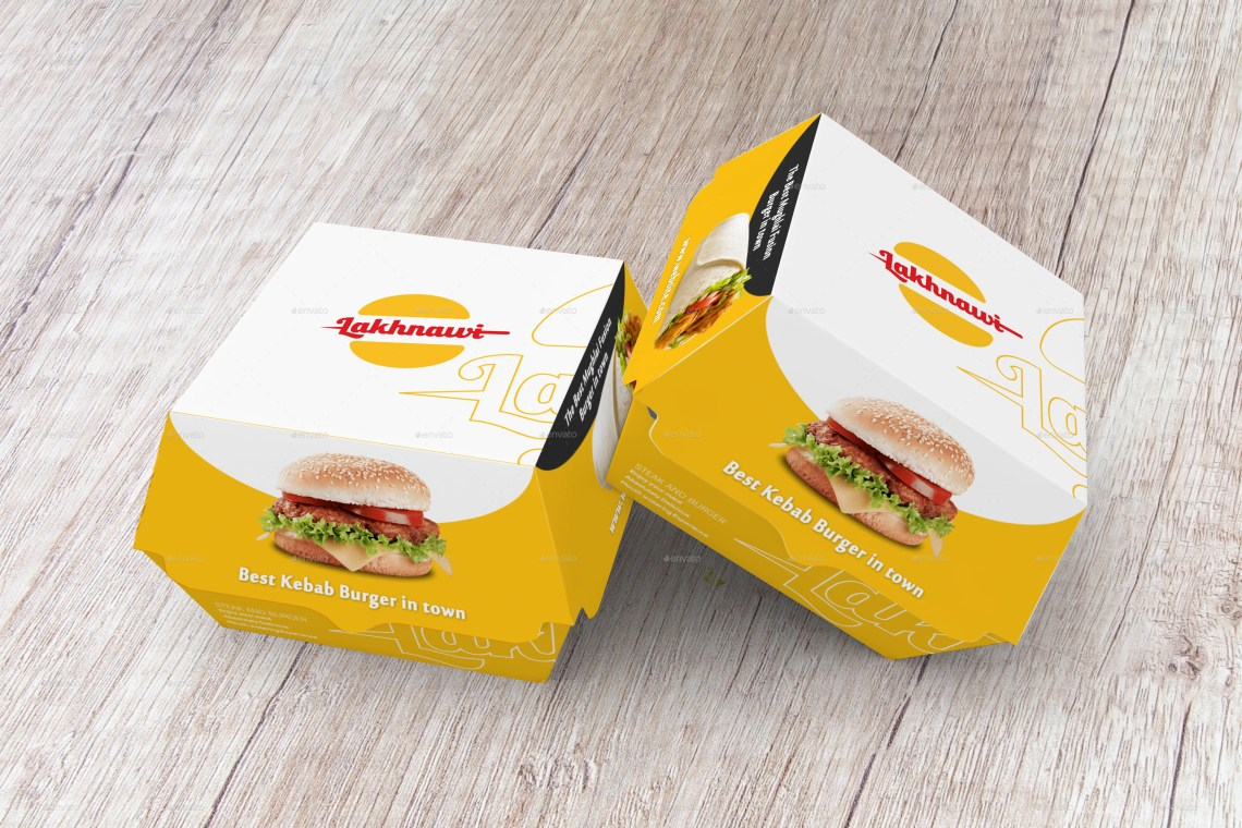 Download Burger Box Mockups by shaikerintu | GraphicRiver