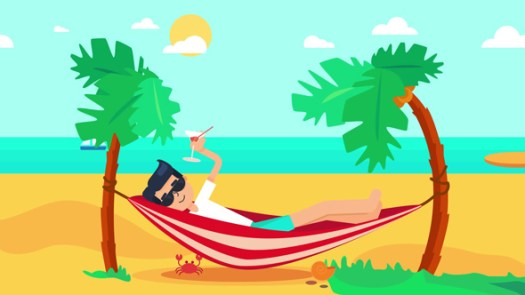 Image result for vacation cartoon