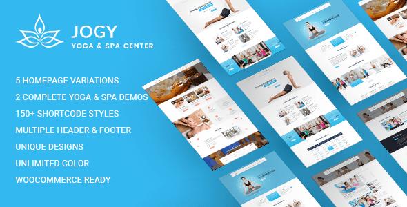 Jogy   Yoga & Spa WordPress Theme