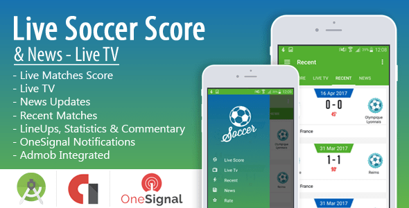 Live Soccer Score & News - Live TV