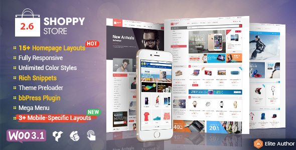 ShoppyStore - Multi-Purpose Responsive WooCommerce Theme
