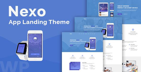 Nexo – Multipurpose Landing Page Theme
