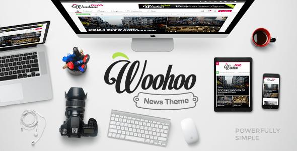 Woohoo - Modish News, Magazine and Blog Theme