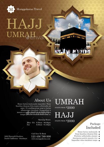 Hajj And Umrah By Monggokerso GraphicRiver