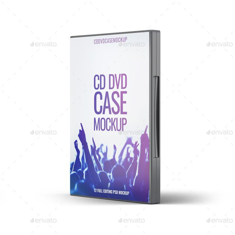 Download DVD CD Case Mock-Up by L5Design | GraphicRiver