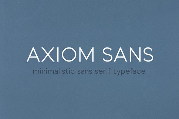 Free Font Axiom Sans Download