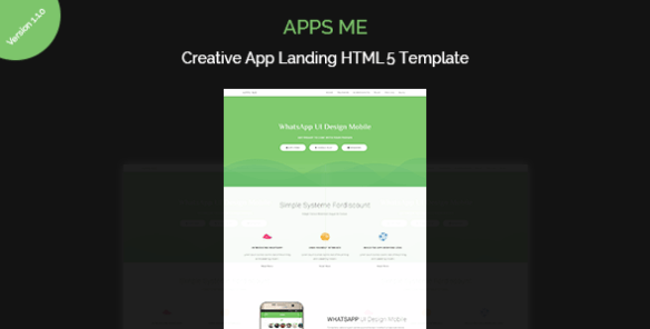 apps me  App Landing Page