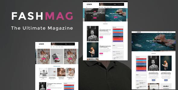 fashmag banner.  large preview - Fashmag - Lifestyle Blog & Magazine WordPress Theme