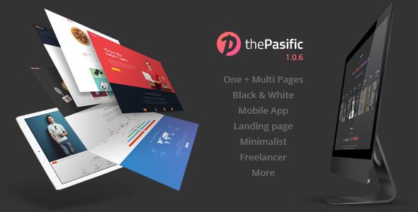 Pasific | Multipurpose HTML5 Template