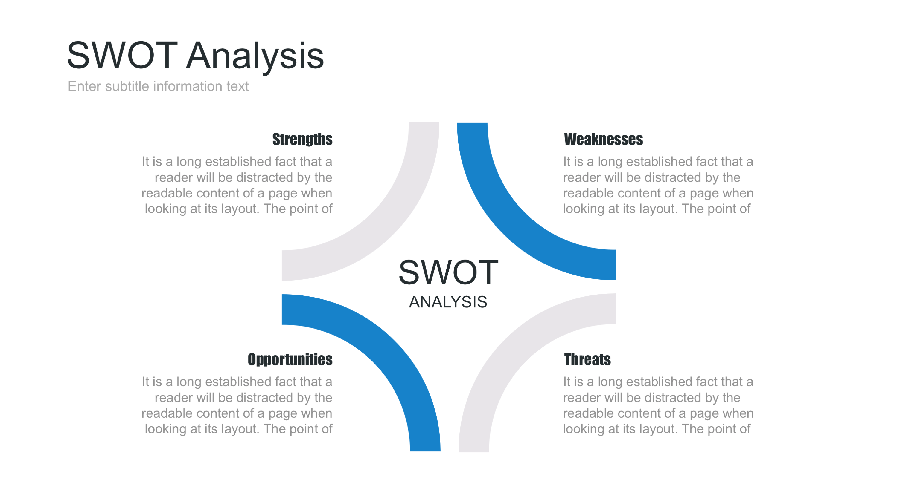 Swotysis Powerpoint Template By Site2max