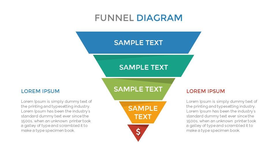 Funnel Diagram Slides Template By Sananik