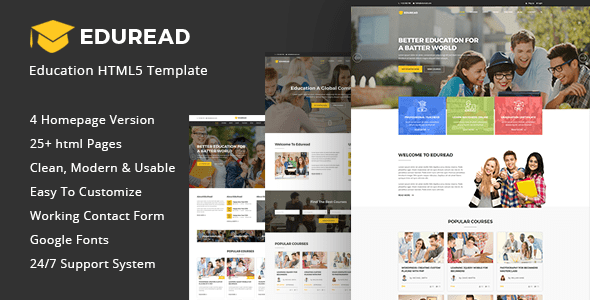 Education HTML5 Template