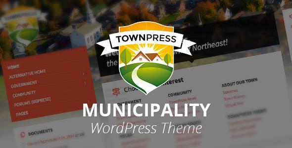 TownPress - Municipality WordPress Theme - Nonprofit WordPress
