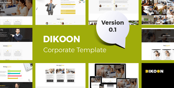 Corporate HTML5 Business Template