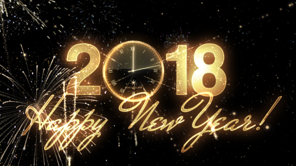 Glamorous New Year Countdown Clock 2018 by IronykDesign   VideoHive Play preview video