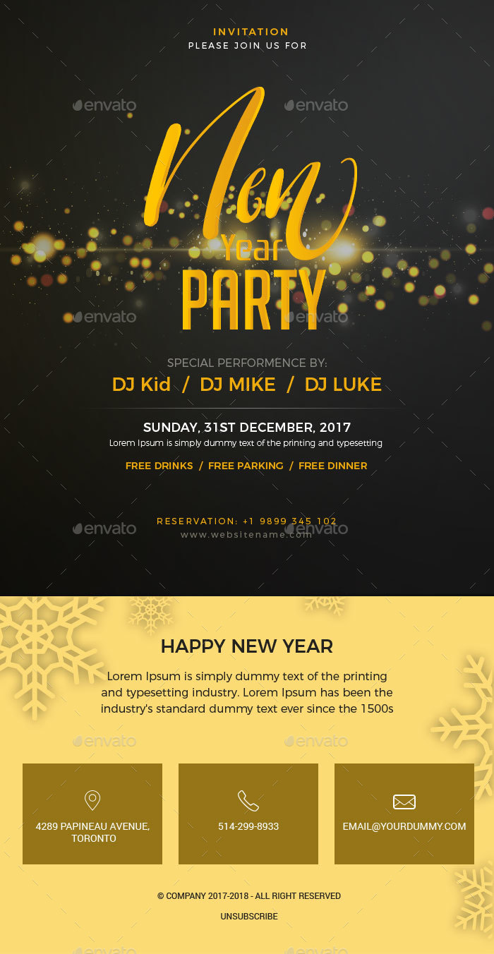 New Year   Party Invitation Email Template PSD by Imkktheme     New Year   Party Invitation Email Template PSD