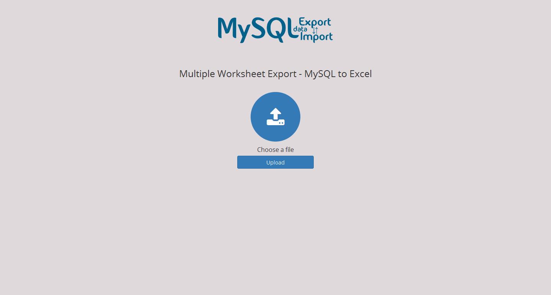 Excel Export Import