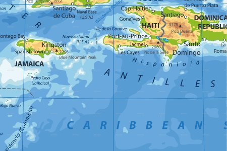 Haiti physical map another maps get maps on hd full hd another map of haiti highlighted map of europe and north africa ww world war ii annotated map europeannorth african theater caribbean islands map visual ly gumiabroncs Images