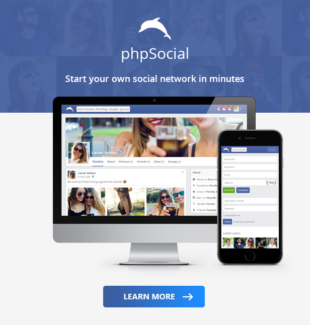 File Share Plugin for phpSocial