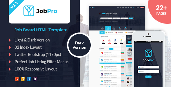 Job Pro - Job Board HTML Template - 17