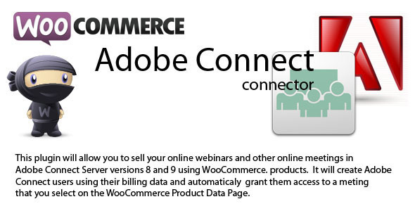 WooCommerce to Adobe Connect connector 3.2