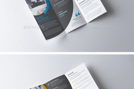 Trifold Brochure Template by nashoaib   GraphicRiver Trifold Brochure Template   Corporate Brochures