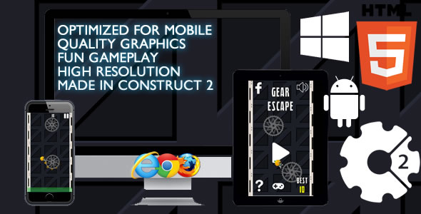 Gear Escape Game - CodeCanyon Item for Sale